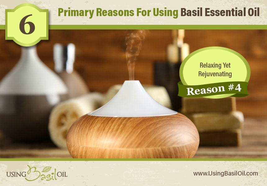benefits of basil oil