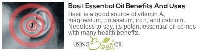 basil oil for asthma