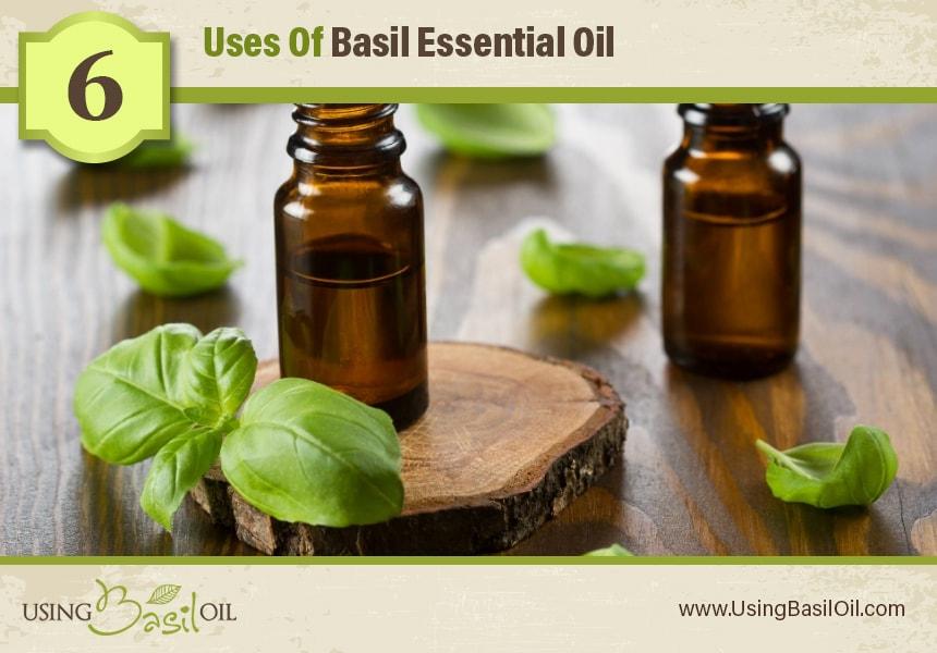 basil oil for skin